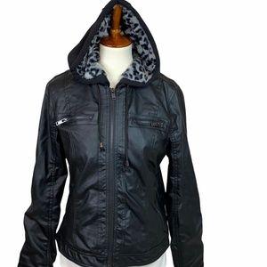 Ashley 26 International Black Biker Jacket…